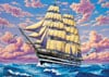 tallship,Clemmy Puzzle Jigsaw Type Tall Ship modern art