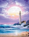 lighthouse jigsaw puzzle by clementoni aka ravensburger, 1000-pieces puzzle of a lighthouse