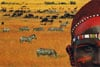 savannah,Savannah Desert Jigsaw Puzzel manufactured by Clementoni Games # 308477