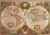 clementoni jigsaw puzzle 1000 pieces of earth old map, map puzzles and images Puzzle