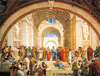 Raphael's painting School of Athens Jigsaw Puzzle manufactured by Clementoni JigsawPuzzles Italy