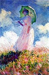 womanwithparasol,clementoni artpaintings by monet, woman with parasol jigsaw puzzle 1000 pieces