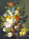 JansFrans vanDael still paintings flowers & fruit jigsaw puzel one thousand pieces classic detail