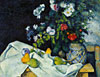 still life pzinting by cezanne jigsaw puzzle, manufactured by clementoni, 1000 pieces jigsaw puzzle