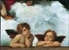 Italian Renaissance painter Raffaello Santi madonna sistine jigsaw puzzle ravensburgers' clementoni