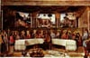 thelastsuppermuseumcollection,Roselli artist painter jigsaw puzzle the last supper museumseries clementoni # 314393