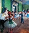 Clementoni Jigsaw Puzzle 1000 Pieces by Hilaire Germain Edgar Degas of his Dancing Class painting Puzzle