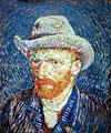 vangoghselfportrait,van gogh self-portrait, clementoni 1000 pieces jigsaw puzzle clementoni