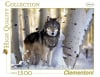 1500 Piece Jigsaw Puzzle Clementoni Puzzles The Wolf photographic fantasy fluorescent image