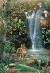 enchanted-valley,jogsaw puzzles jogsawpuzzles jigsawpuzzle enchanted valley joseph hautman painting puzzle