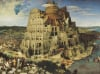 Tower of Babel 5000 piece jigsaw puzzle painted by Peter Bruegel Elder Ravensburger Games Germany