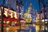 jigsaw puzzle Montmartre, Paris 1500 piece beautiful clementoi puzzle 319992 Puzzle