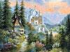 bearmont castle jigsaw puzzle, 2000 pieces clementoni puzzle