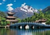 lijiang-china,lijiang china jigsaw puzzle by clementoni, 2000 pieces puzzel made in italy
