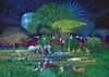 Clementoni JigsawPuzzle 2000 pieces Animals in the Jungle beautiful colors painting Hiroo Isono