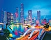 clementoni jigsaw puzzle 3000 pieces, singapore city lights