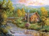 peaceful-grove,Clementoni Jigsaw Puzzle 4000 Pieces Peaceful Grove # 34512 Painter of Light