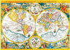 clementoni jigsaw puzzle 4000 pieces of earth old map, map puzzles and images