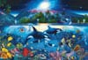 Christian Riese Lassen painting majestic kingdom under the sea 6000 Piece Jigsaw Puzzle by Clementon