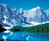 Banff National Park Canada 1000 Piece Jigsaw Puzzle Made by Clementoni # 390144 Puzzle
