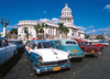 La Havana Capitol Building wiith old cars parked outside1000 Piece JigsawPuzzle Clementoni puzzles i
