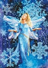 fluoresecent hidden images clementoni jigsaw puzzle 1000 piecves snowflake fairies