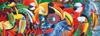 heads up birds graeme stevenson mikael graphics clementoni panorama jigsaw puzzel 1000 pieces Puzzle
