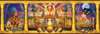 Clementoni Jigsaw Puzzle 1000 Pieces egyptian triptych ciro marchetti 2010 Puzzle