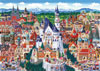 fantasy line of clementoni jigsaw puzzles titled germany 1000 piece high quality puzzel