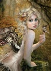 fairies line of clementoni jigsaw puzzles titled touch of gold a beautiful young fairy 1000 pieces