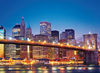 clementoni jigsaw puzzle 1000 pieces of new yorks brooklyn bridge travel series 39199