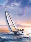 Clemmy Puzzle Jigsaw vincenzo auletta sail boat 1000 pieces # 39208