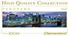 clementoni jigsaw puzzle panoramic view 1000 pieces of new yorks brooklyn bridge travel series 39199