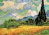 wheat-field-with-cypresses-van-gogh,van goghs wheat field with cypresses, clementoni 1000 pieces jigsaw puzzle clementoni