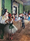 Clementoni Jigsaw Puzzle 1000 Pieces by Hilaire Germain Edgar Degas of his Dancing Class painting