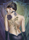 Clementoni 1000 Piece JigsawPuzzle of Rose Tattoo on Girls Back # 39242 Puzzle