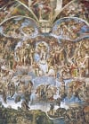 universal judgement painted by michelangelo, 1000 pieces jigsaw puzzle by clementoni