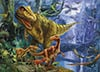 magic 3d effect with 3d glasses clementoni jigsaw puzzle 1000 piecves dino valley Puzzle