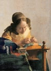 lacemaker,Clementoni Jigsaw Puzzle 1000 Pieces Vermeer painter girl with a pearl earring