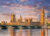 clementoni jigsaw puzzle 1000 pieces of london, houses of parliament Puzzle