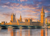 clementoni jigsaw puzzle 1000 pieces of london, houses of parliament