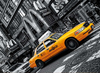 Clementoni JigsawPuzzle 1000 Pieces by Clem Games & Puzzles Germany yellow new york taxi cab Puzzle