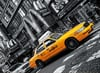 Clementoni JigsawPuzzle 1000 Pieces by Clem Games & Puzzles Germany yellow new york taxi cab