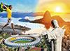 Brazil 2014 Rio de Janeiro photograph jigsaw puzzle clementoni puzzle 1000