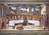 Roselli artist painter jigsaw puzzle the last supper museumseries clementoni # 314393