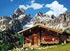 austria mountain house austria beauty puzzle ravensburger 1000 pieces # 392971 clementoni