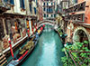 Venice Canal 1000 Piece Jigsaw Puzzle # 308903 made by Clementoni Italian Puzzle Maker