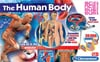 the human body, assemble a 3d skeleton and the organs of the body, clementoni
