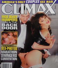 Climax March 1994 magazine back issue