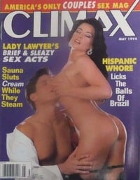 Climax May 1994 magazine back issue